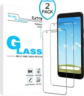 KATIN Galaxy S5 Screen Protector - [3-Pack] for Samsung Galaxy S5 Tempered Glass Film Bubble Free, Easy to Install with Lifetime Replacement Warranty