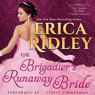 The Brigadier's Runaway Bride audiobook cover art