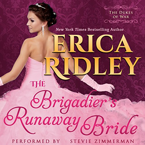 The Brigadier's Runaway Bride audiobook cover art