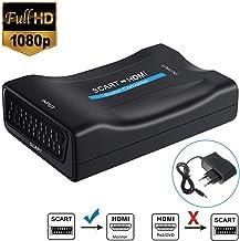 SCART a HDMI Convertidor, Neefeaer Adaptador Scart a HDMI