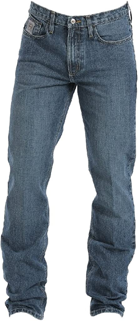 Cinch Men's Silver Max 48% OFF Label Straight OFFer Leg 28W 36L Indigo x Jeans