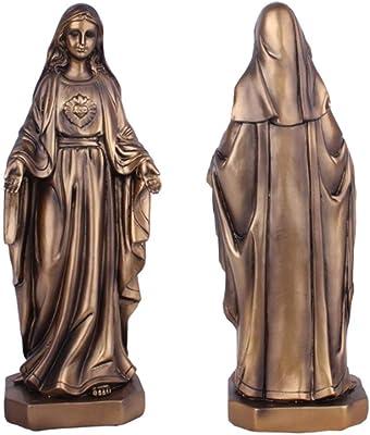 Schlüsselanhänger  Madonna Immaculata Miraculeuse 9 cm Metall,Neu