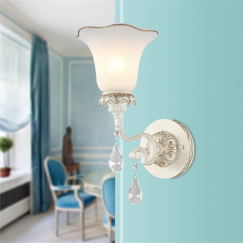 CXM-Wall lamp ALUK- Europische - (Einzelkopf) einfache Retro Garten Kristall Beleuchtung