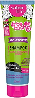 Shampoo Uso Diário 200ml Arrasar to de Cacho Unit, Salon Line
