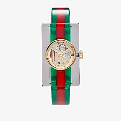 Gucci Plexi YA143501 (Green/Red) Watches