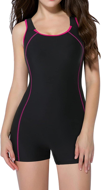 beautyin Women's One Piece Swimwear Sports Swimsuits Store Boyleg Colorado Springs Mall