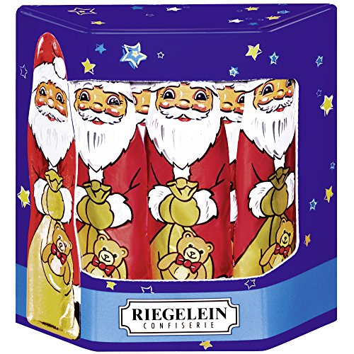 Riegelein Christmas man 10 Pieces (125g) - Milk Chocolate