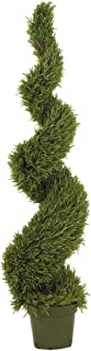 Nearly Natural 5171 Rosemary Spiral Silk Tree, 5-Feet, Green