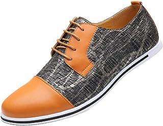 Dadawen Casual Business - Zapatos de ciudad con cordones