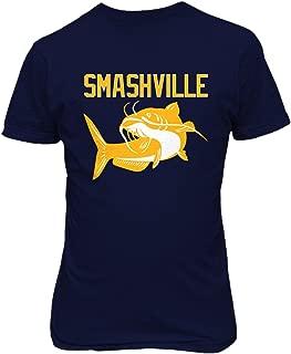 KING THREADS Smashville Nashville Catfish Men's T-Shirt