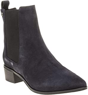 Superdry Zoe Quinn High Chelsea Womens Boots Navy