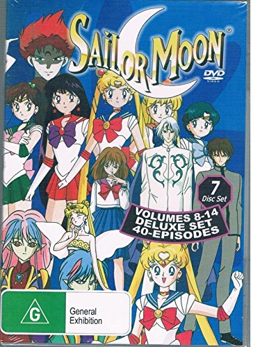 Sailor Moon - Complete Series 2 Box Set (Volumes 8 to 14 / Episodes 43 to 82)