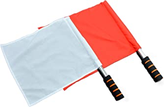 Tokyo-H Red White Referee Flags for Kendo (Indoor use)
