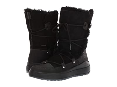 Cougar Tacoma Waterproof (Black Leather/Shearling) Women