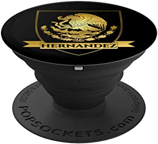 Gold Hernandez Crest - PopSockets Grip and Stand for Phones and Tablets