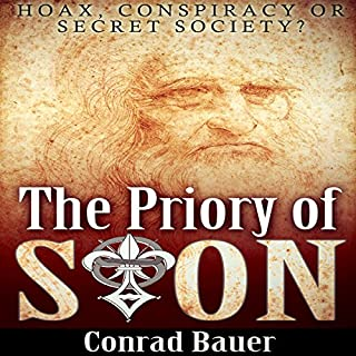 The Priory of Sion audiobook cover art