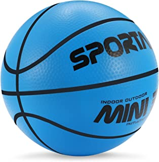Sport AI Small Basketball Mini Cute Bouncy Ball for Kids,Safe and Soft to Handheld 5