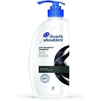 Head & Shoulders Silky Black Anti Dandruff Shampoo 650 ML