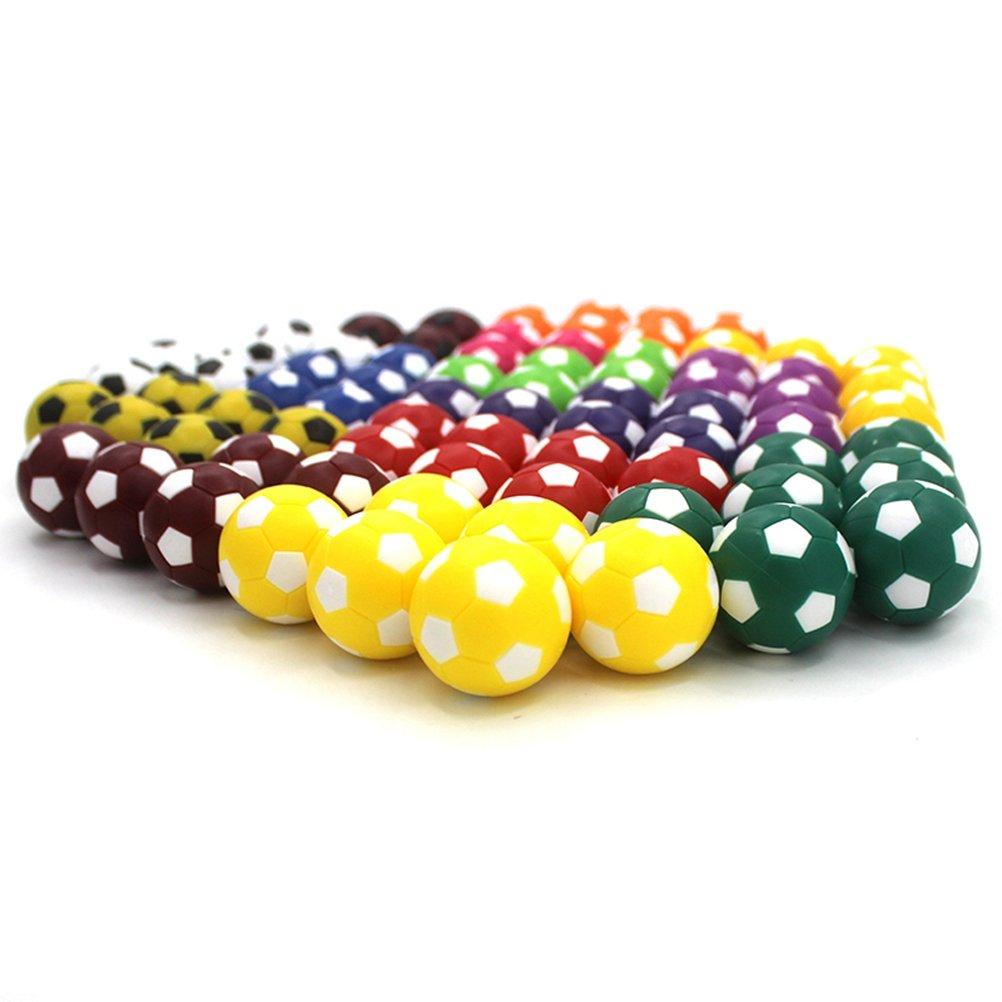 TOYMYTOY 10pcs Mini balones de fútbol de juguete 36MM Resco fútbol ...