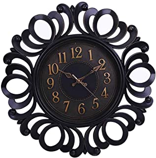 Pan Emirates Alma Wall Clock, 45.7 x 4.5 cm, Brown