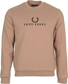 Fred Perry Sweatshirts For Men L, Nude (M4544-G23-NDE)