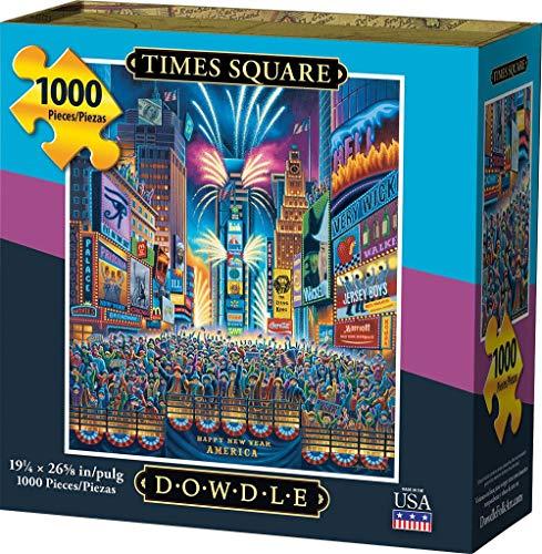 1000 piece puzzles time square - 8