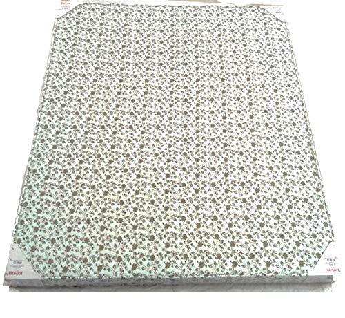 "Kurl-On Ever Firm Bonded Foam Mattress,Size (72x48),4"" Inch,Cream"