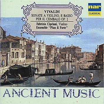 Vivaldi: Sonate a violino e basso per il cembalo, Op. 2