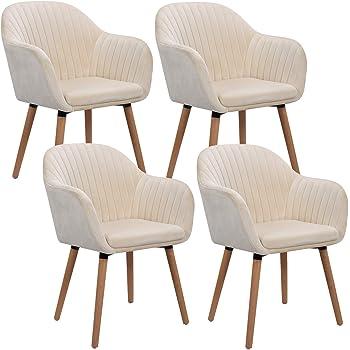 4 x Wooden Legs Feet For Chair Tub Chair Armchair Footstool Oak Or Black Gloss