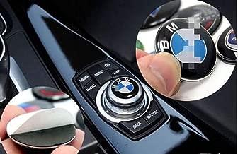 29mm Controller Sticker Fit for BMW Cars with IDrive Multimedia Button Control Button Performance 3D Sticker M 1 2 3 5 7 X1 X3 X5 X6 GT E46 E90 E39 E60 E82