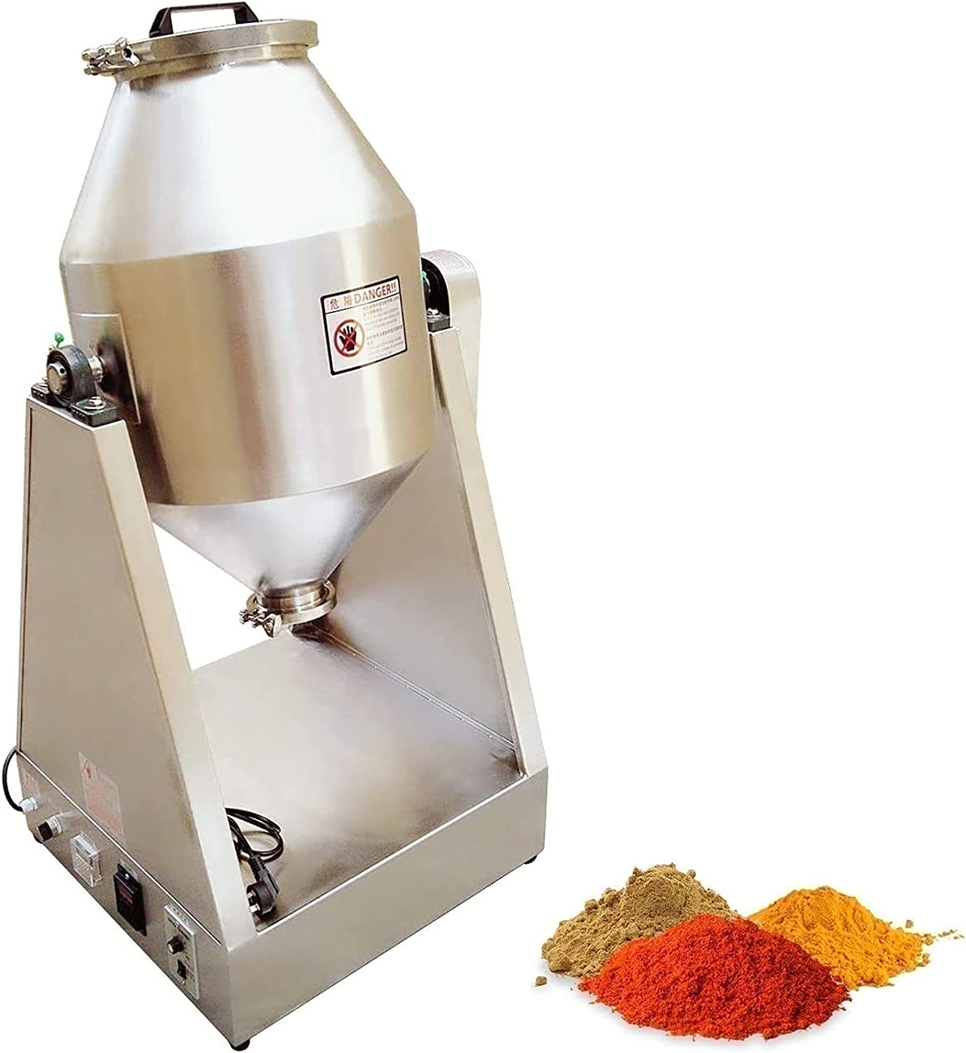 HSOSK Small Type Powder Mixer Blender Machine Chicago Mall Stirring Mixing shopping fo