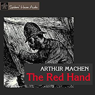 The Red Hand audiobook cover art