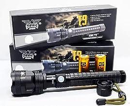 Lanterna Grande Recarregável LED T9 Potente JY-8869