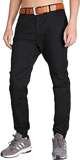 Men's Chino Jogger Pants Casual Slim Fit Stretch Sweatpants