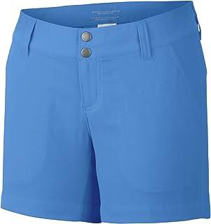 Columbia Sportswear Women's Saturday Trail Shorts, Harbor Blue, 4 x 5