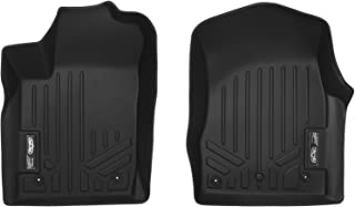 MAXLINER Floor Mats 1st Row Liner Set Black for 2013-2016 Jeep Grand Cherokee or Dodge Durango with Front Row Dual Floor Hooks