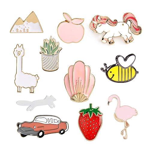 Cute Enamel Pins: Amazon com