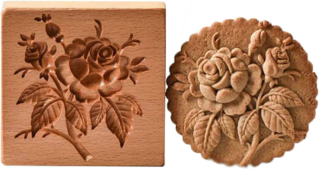 Funny Cookie Molds for Provance Branded goods Cutter Baking Classic Rose