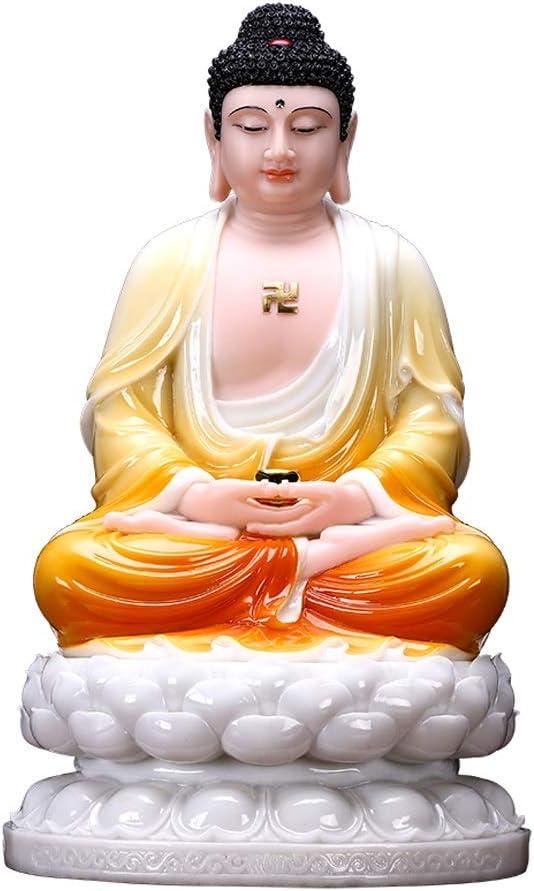 """Statue 11.8""""Buddha Sakyamuni 55% OFF Tall Statuary Selling and selling Alabaster Hom"""