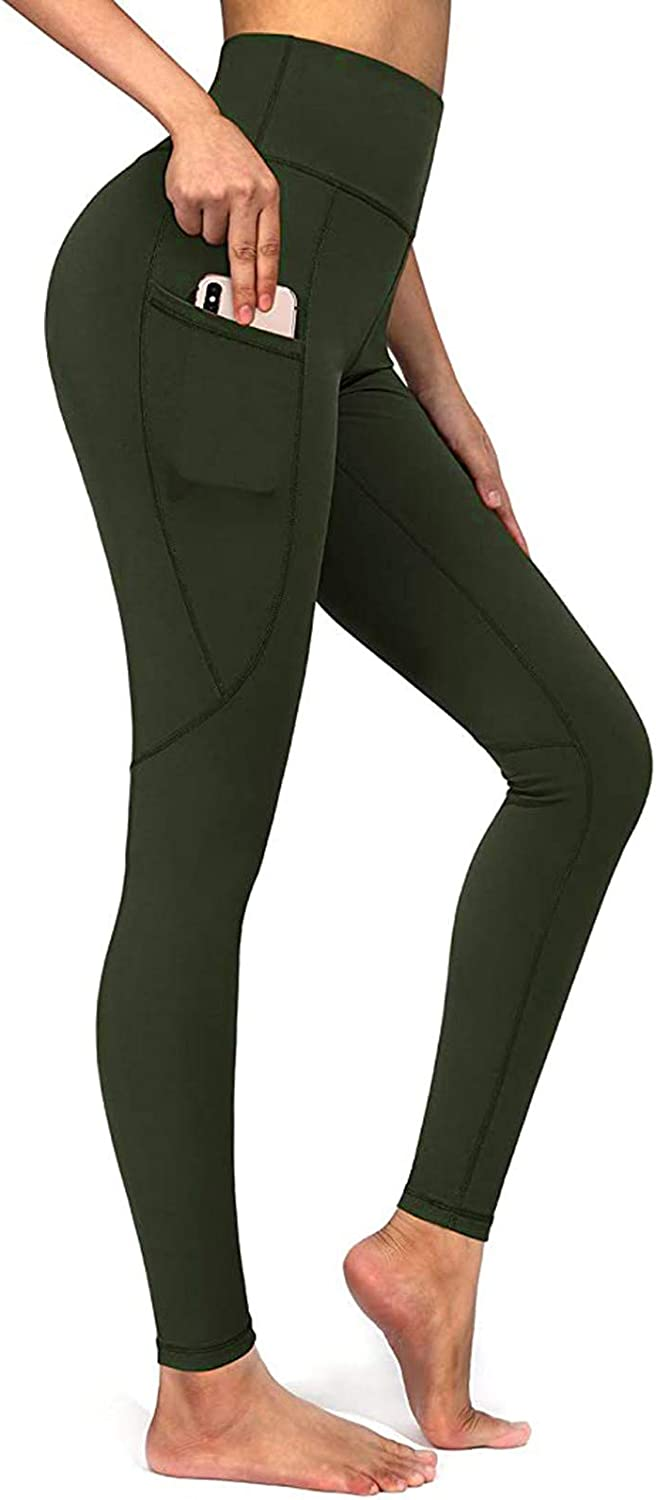 Yoga Pants for Women,Ruched Workout Leggings Butt Lift Tummy Control Fitness Sports Straight Leg Yoga Athletic Pants