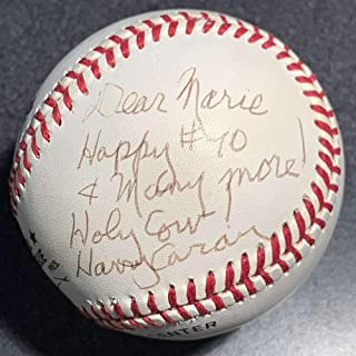 Harry Caray ONL Baseball Signed Autograph PSA/DNA Chicago Cubs Holy Cow