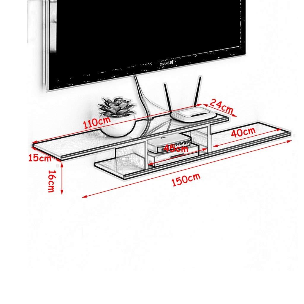 FLYSXP Soporte para TV de Madera Caja con Cable Enrutador Consola ...
