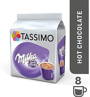 Tassimo Milka - Bebida Chocolate Caliente 8 T DISCs (Paquete: 5 Total: 40 T DISCs) 40 Porciones - TA-4031517