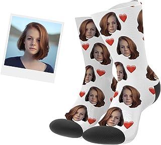 Calcetines Personalizados Foto Calcetín Original Dibujos Estampados Alto