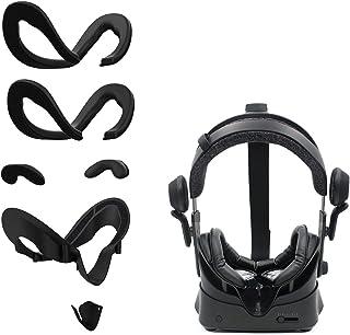 AMVR Facial Interface Beugel & PU Leer Schuim Gezicht Cover Pad Vervanging & Lekkage Neus Pad & Beschermende Lens Cover Co...