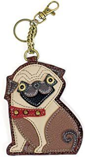 Chala Coin Purse / Key Fob (Pug)