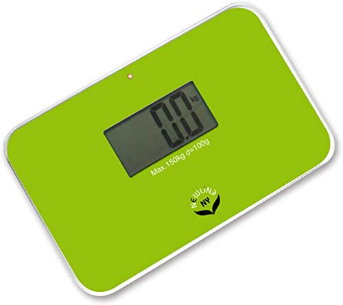 NewlineNY Lightest Step On Super Mini Travel Bathroom Scale, SBB0638SM-GN Green