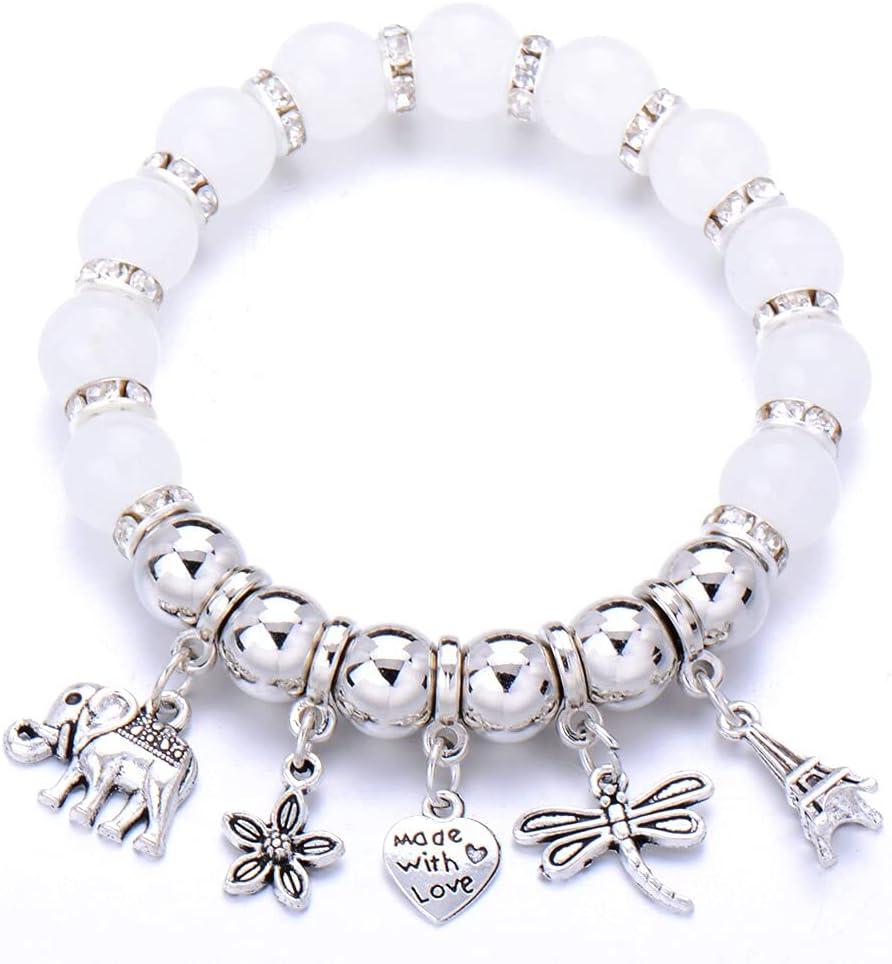 HMTHO Bohemian Life of Heart Some reservation New York Mall shape Bracelets Women For Boh Charm