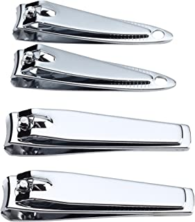 HQY Stainless Steel Nail Clipper Set - Fingernail and Toenail Clipper Set
