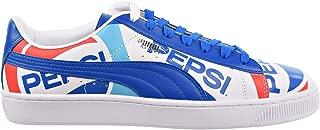 Puma Mens Basket X Pepsi Low top Sneakers Shoes
